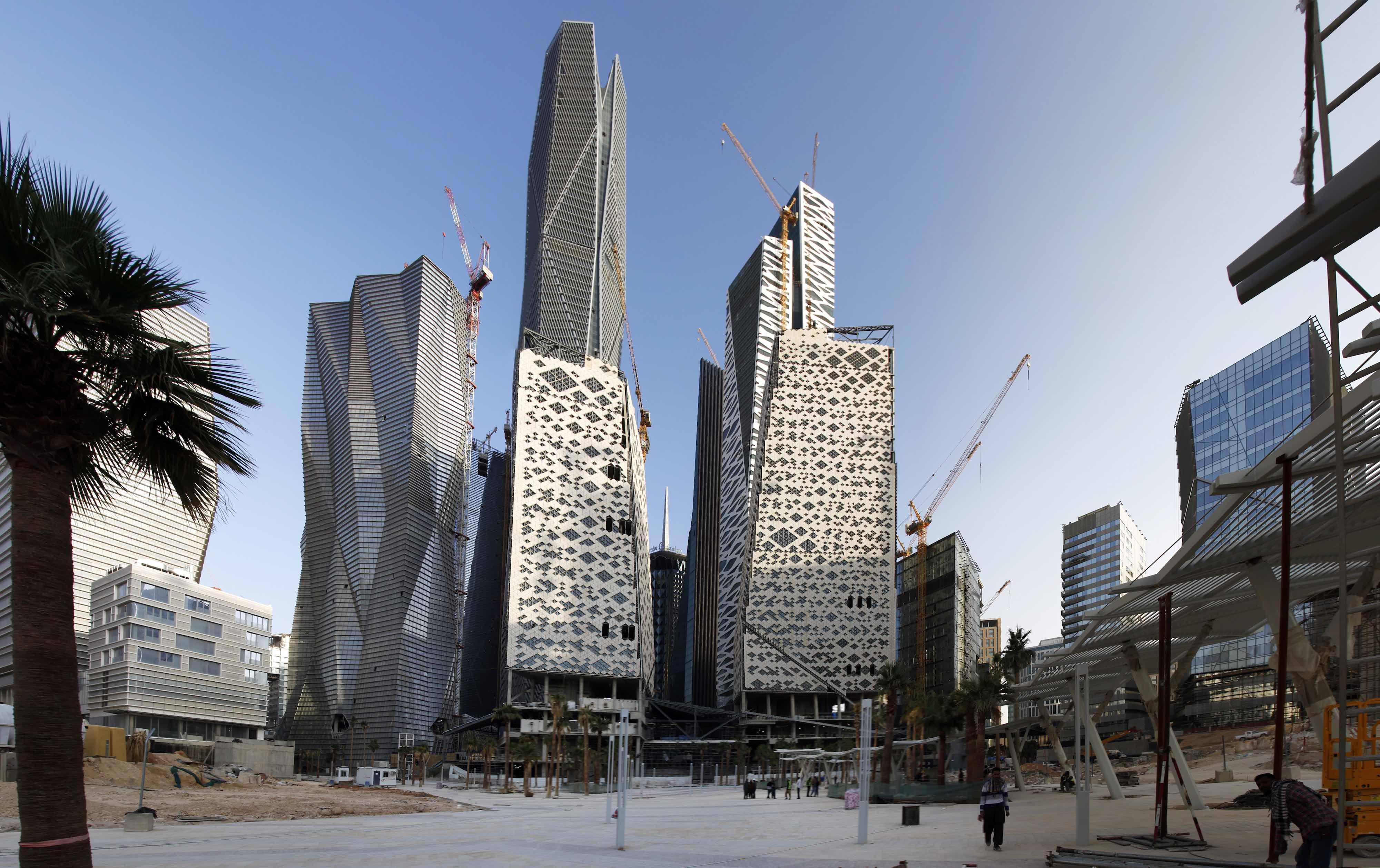 King Abdullah Financial District by Henning Larsen Architects
