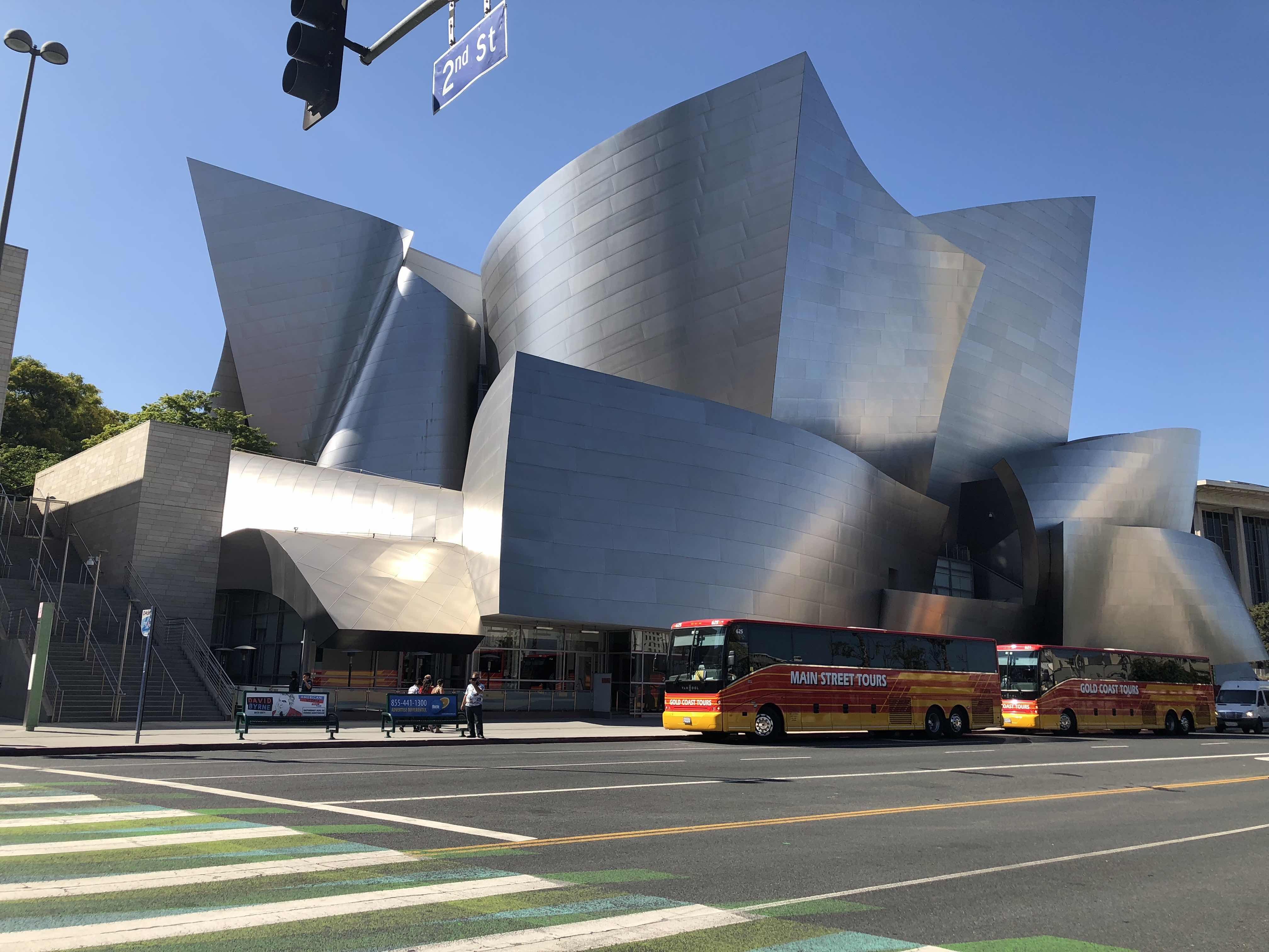 Frank Gehry Walt Disney Concert Hall Photographed by Khalid Salih