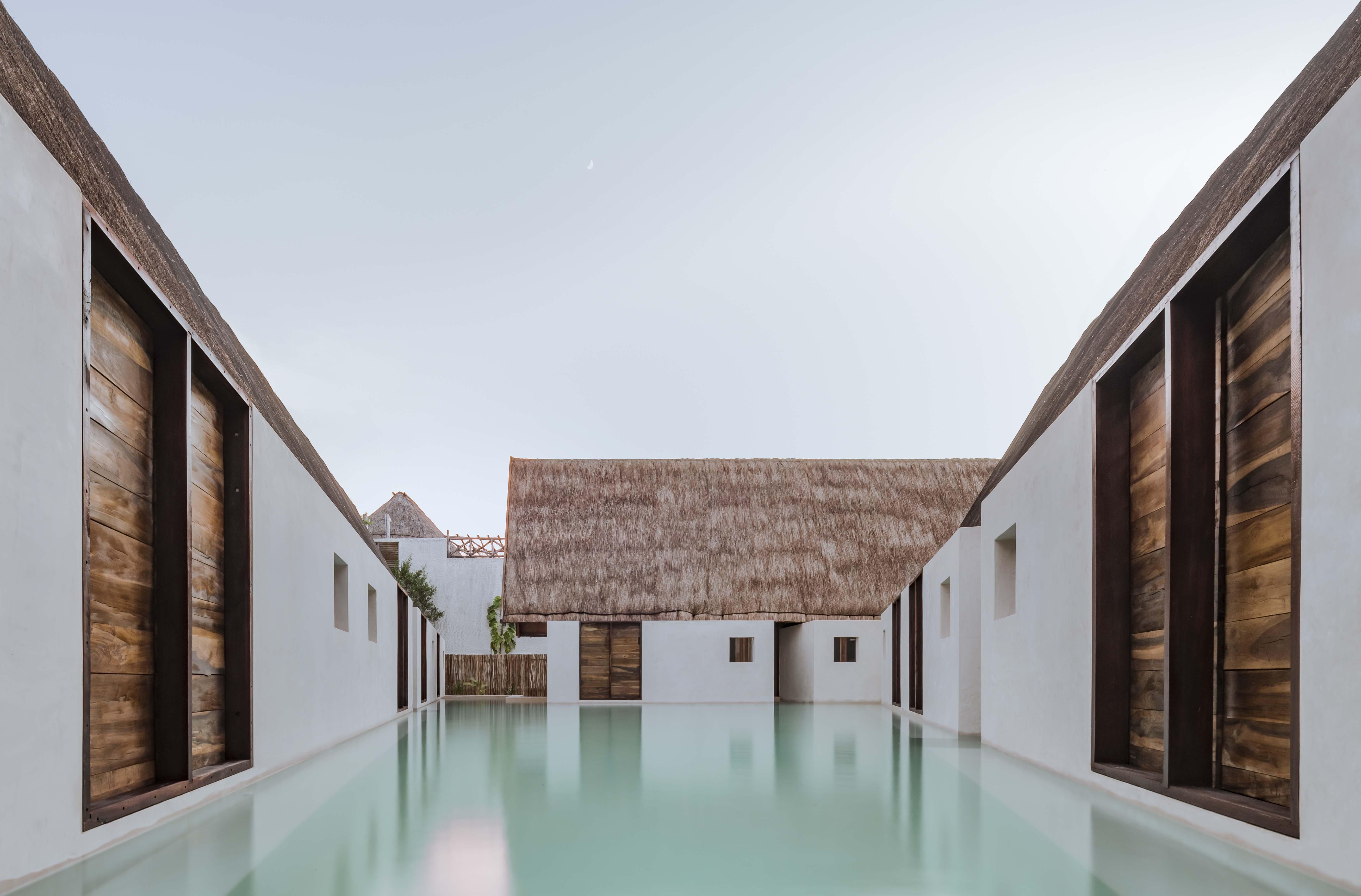Punta Caliza Hotel designed by Macías Peredo Arquitectos