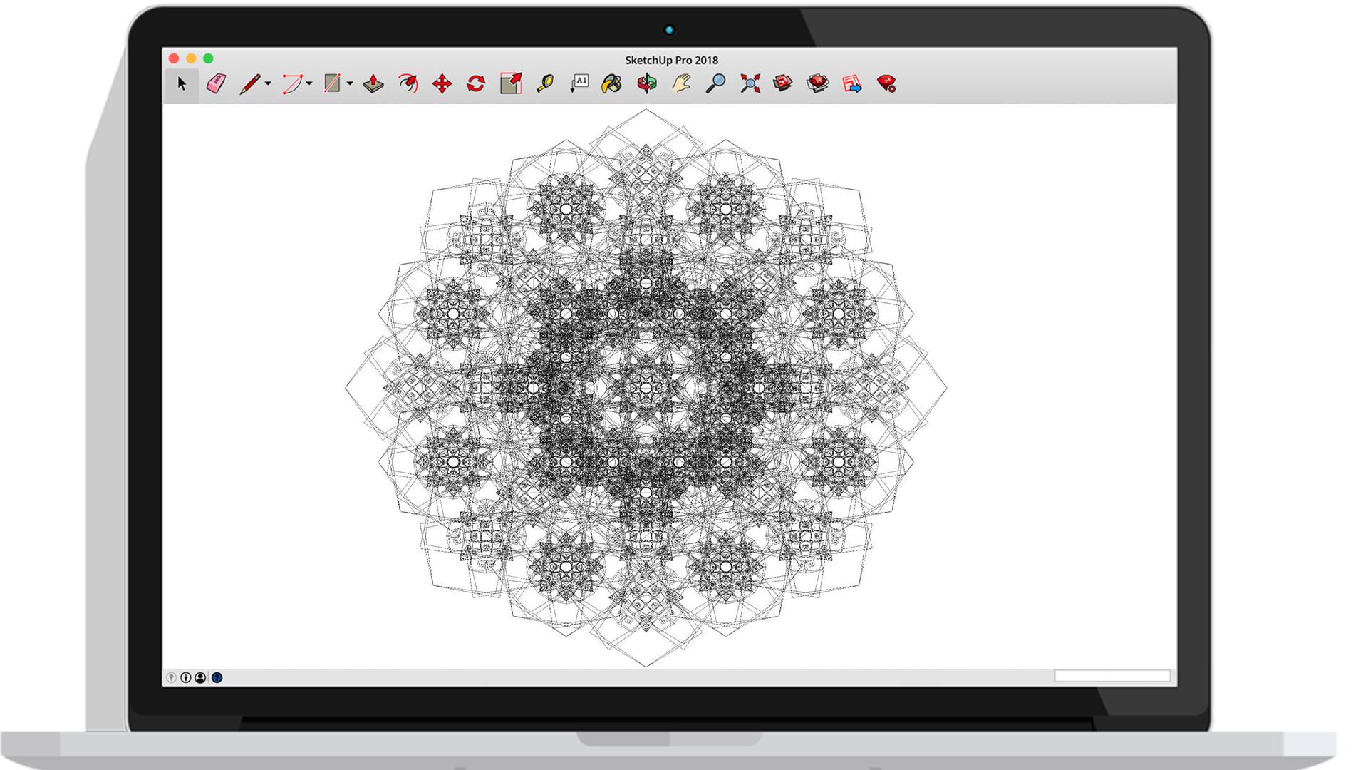 SketchUp: Creating Complex Islamic Geometry with Ali Goshtasbi Rad